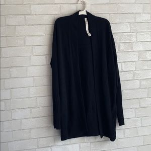 Lululemon Black Knit Cardigan